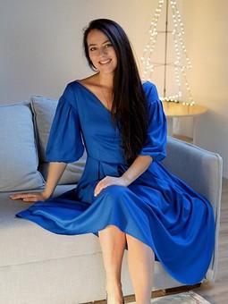 Работа с названием ♡ Новогоднее платье! ♡