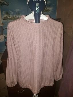 Работа с названием Блуза из трикотажа