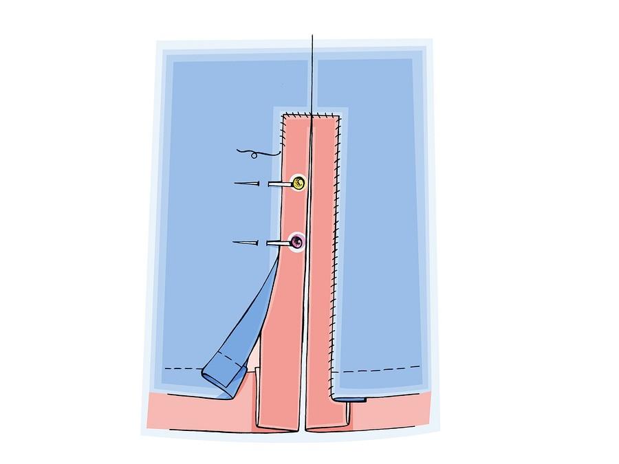 Обработка шлицы иразреза визделиях сподкладкой