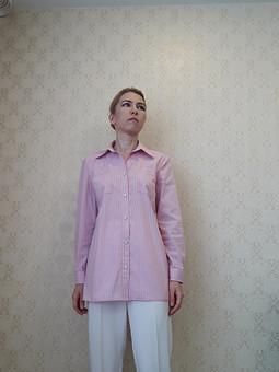 Работа с названием Рубашка с кармашками