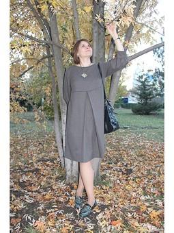 Работа с названием Платье для совместного осеннего марафона