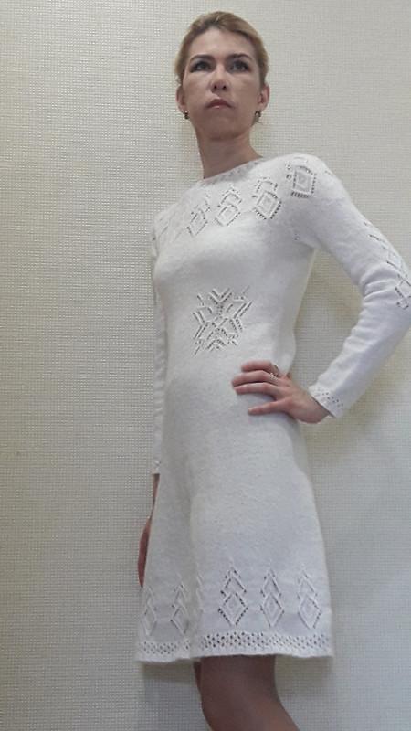Очень зимнее платье