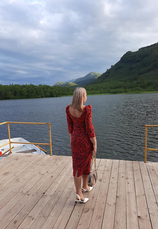 Платье «Яркое северное лето»