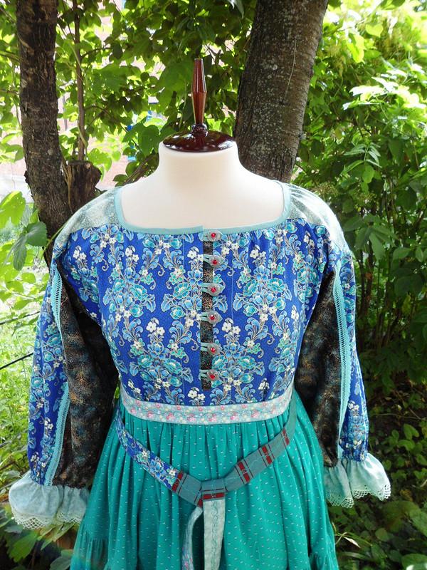 Платье-рубаха «Уральские сказы»
