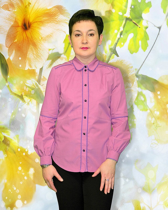 Блузка скантами