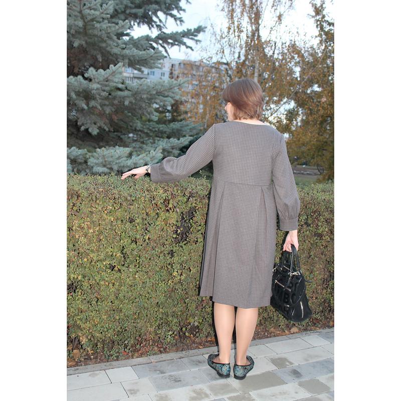 Платье длясовместного осеннего марафона