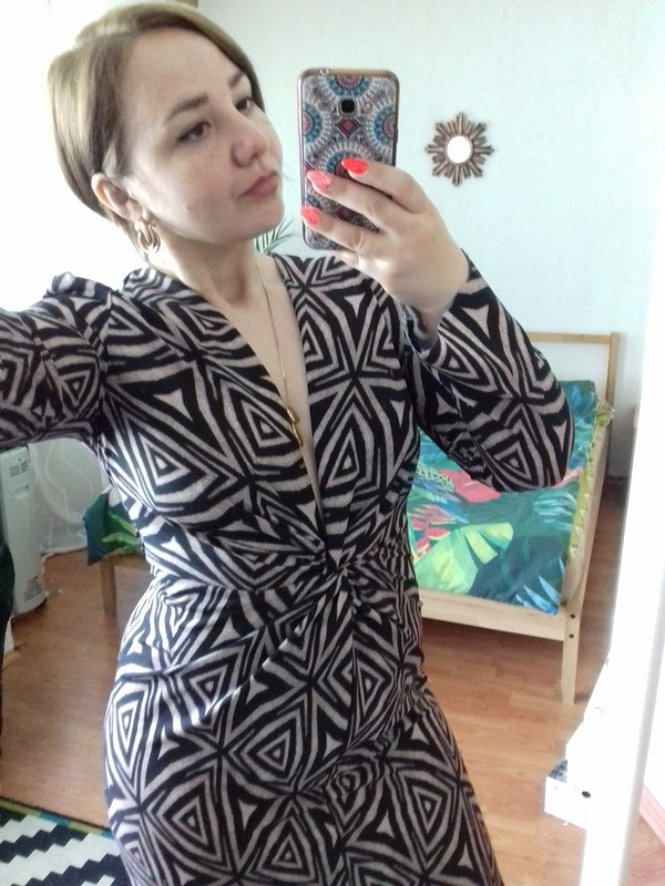 Платье «Сила геометрии»