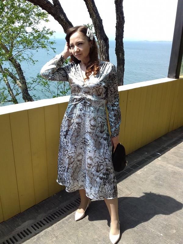 Платье «Благородный питон»