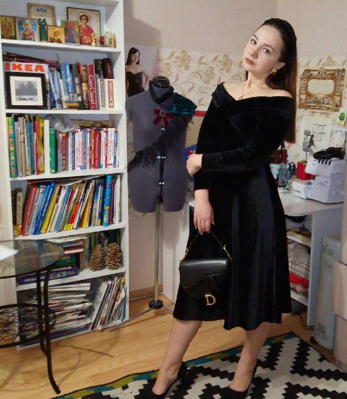 Платье «Магия черного»