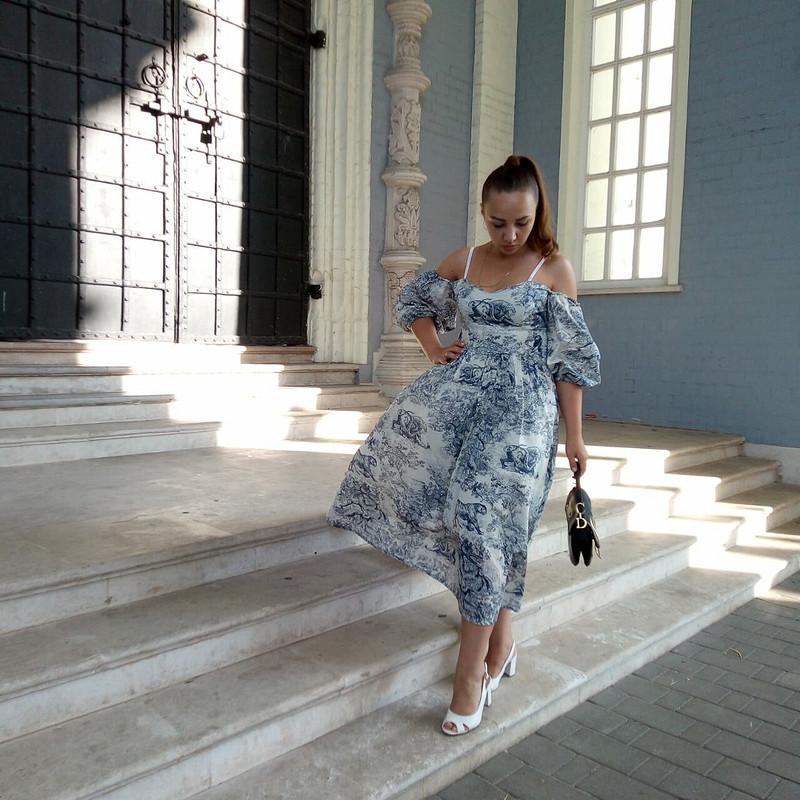 Платье «В мечтах оDior»