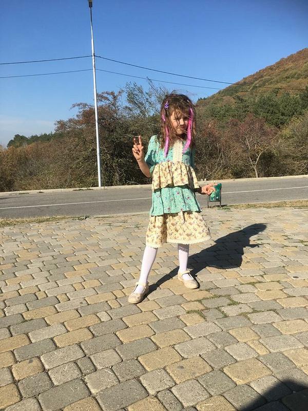 Платье встиле Кантри