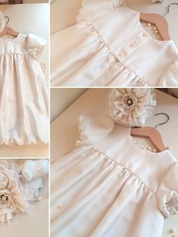 Работа с названием Ванильное платье для Милы