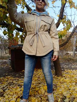 Работа с названием Куртка-рубашка