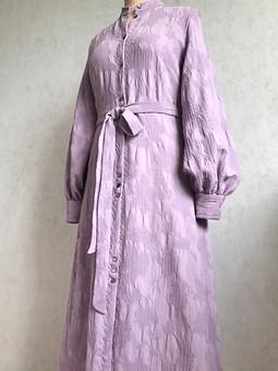 Работа с названием Платье из фактурной итальянской шерсти