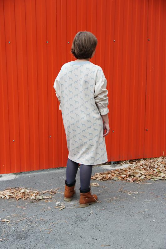 Мягкое платье