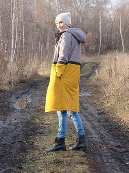 Работа с названием Уютная куртка