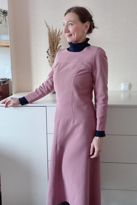 Платье «51 оттенок розового»