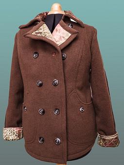 Работа с названием Куртка для дочери из лодена