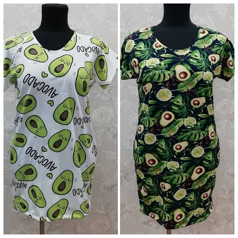 Домашняя одежда: платье, футболки ипижама