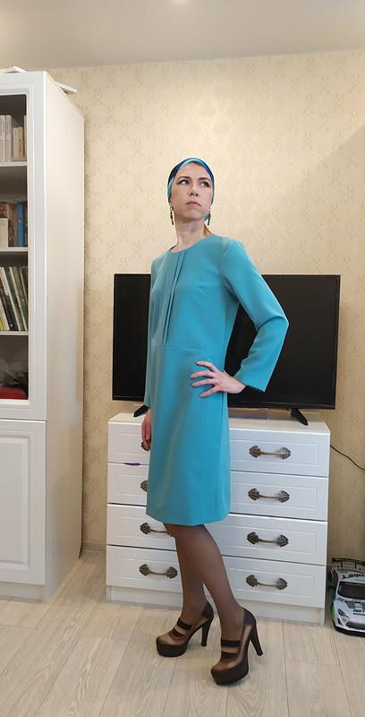 Просто платье