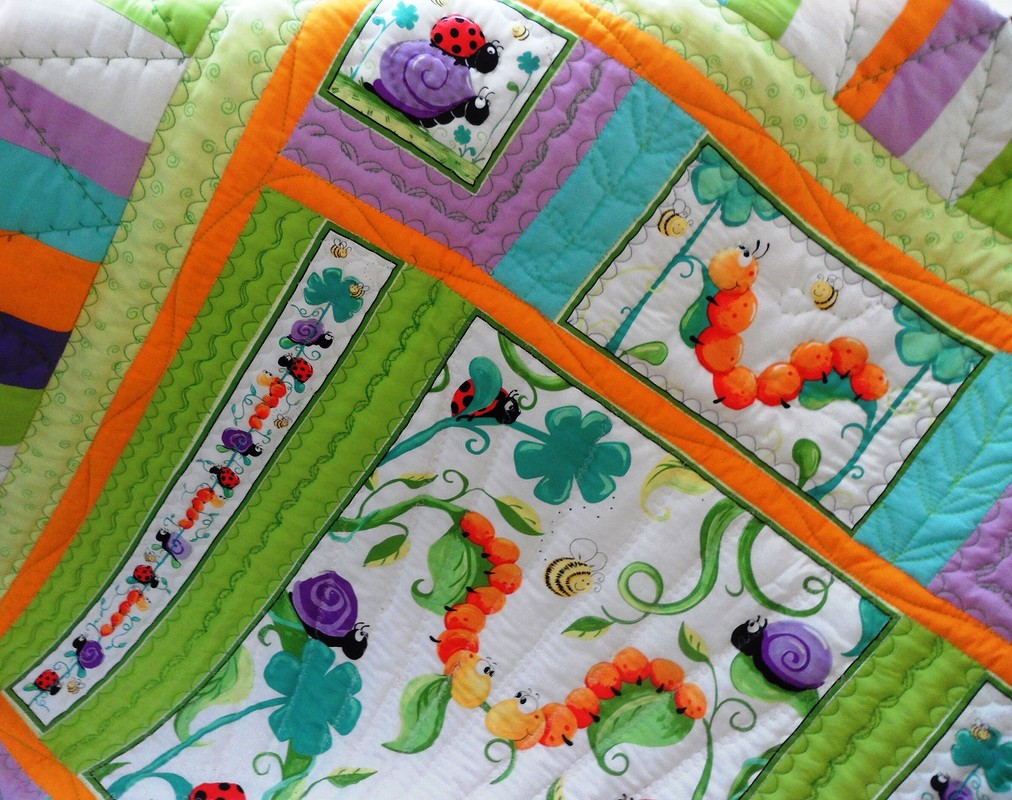 Одеяло «Начало пути. Стихи. «Букашки»