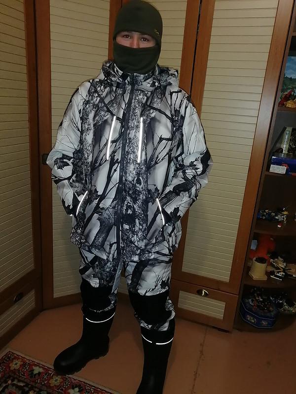 К зимней рыбалке готов: куртка ибрюки