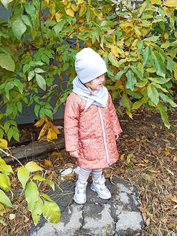 Работа с названием Осеннее пальто