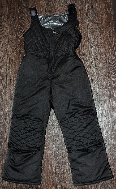 Утепленные зимние штаны