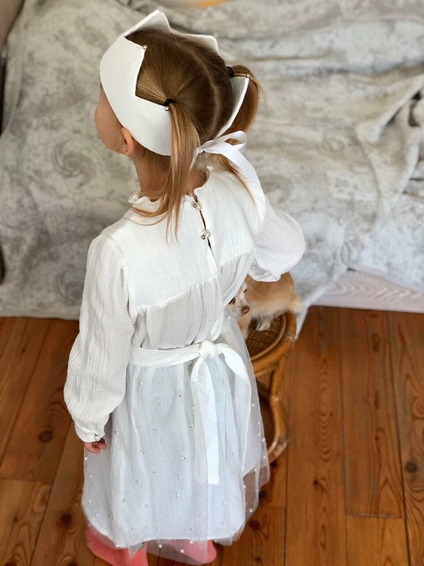 Новогоднее платье «Принцесса....нет, Королевна!»