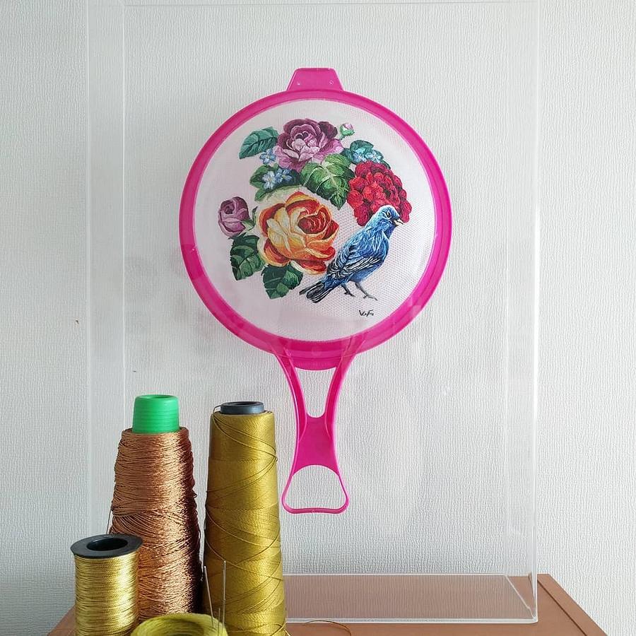 Традиционная вышивка нанеобычной основе: рукодельный instagram недели
