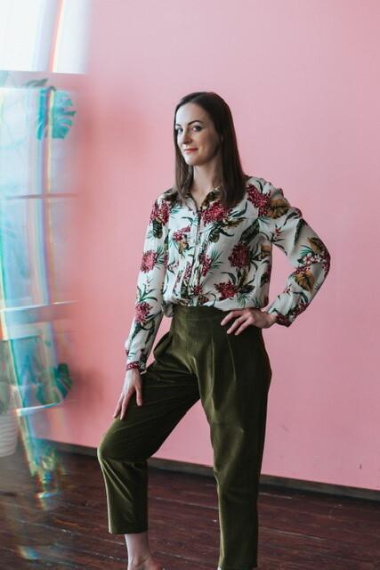 Летний самый носибельный: блузка ибрюки