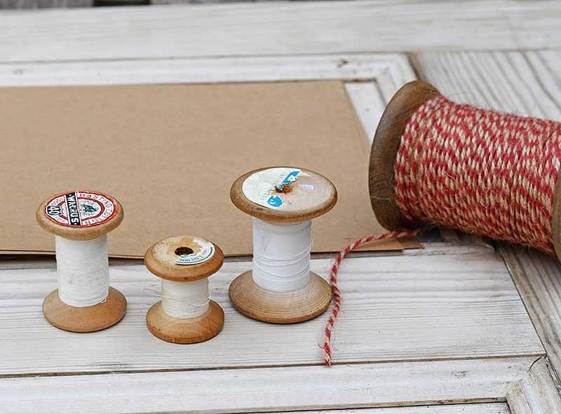 Новогодние игрушки изстарых катушек: мастер-класс