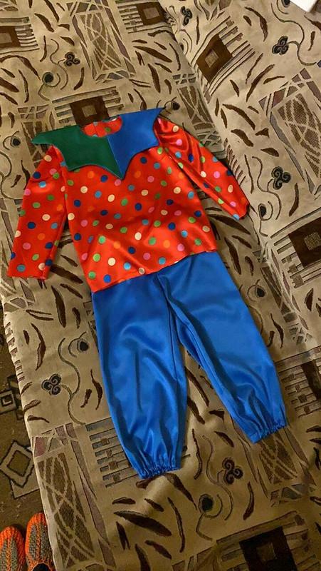 Маскарадный костюм «Новогодний скоморох»