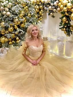 Работа с названием Платье принцессы за 2 дня
