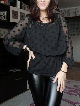 Работа с названием Прозрачная блузка
