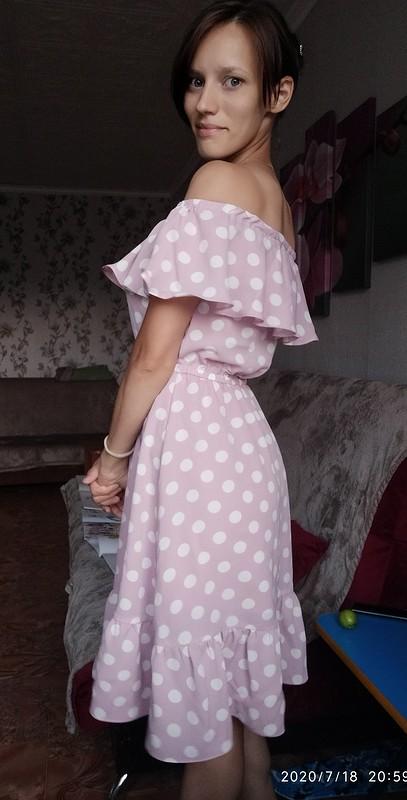 Летнее платье своланом