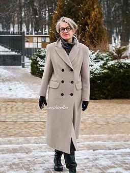 Работа с названием Бритые обтачки к пальто не для себя