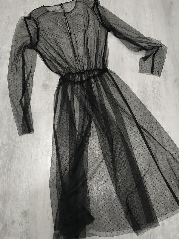 Платье изсетки