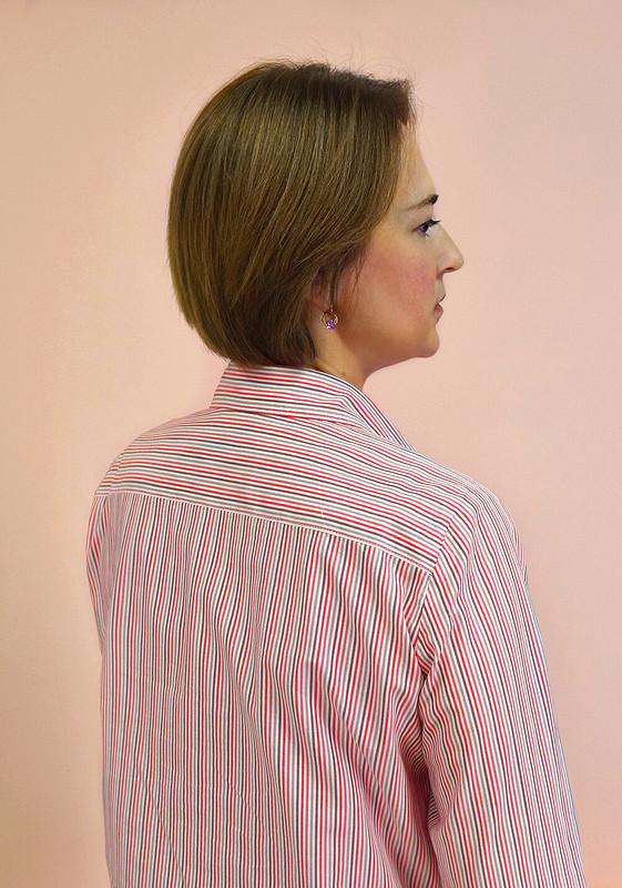 Рубашка вполоску