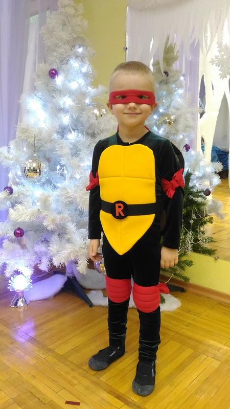 Новогодний костюм Черепашки Ниндзя Рафаэль