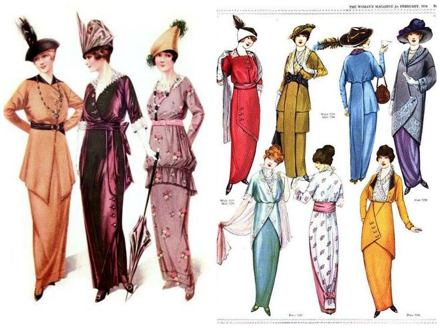 Что такое хромая юбка: прекрасное иужасное изобретение Поля Пуаре
