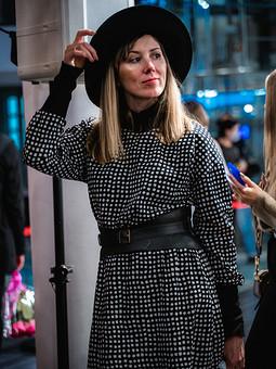 Работа с названием Платье для недели моды в Санкт-Петербурге 2020
