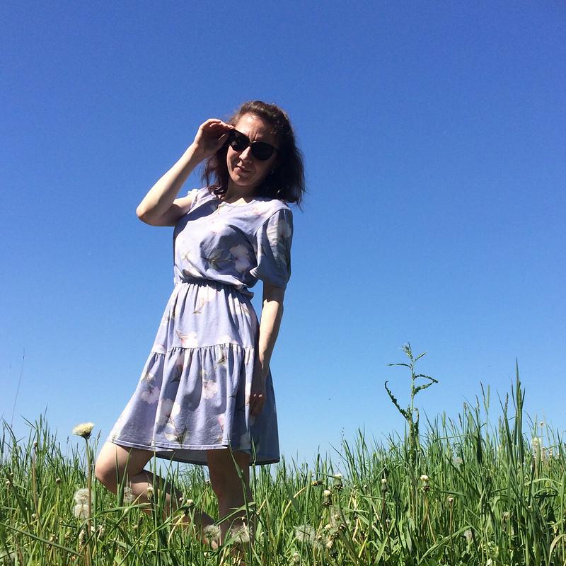 Платье нежное