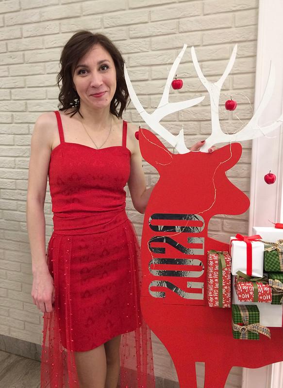 Платье «Lady in red»
