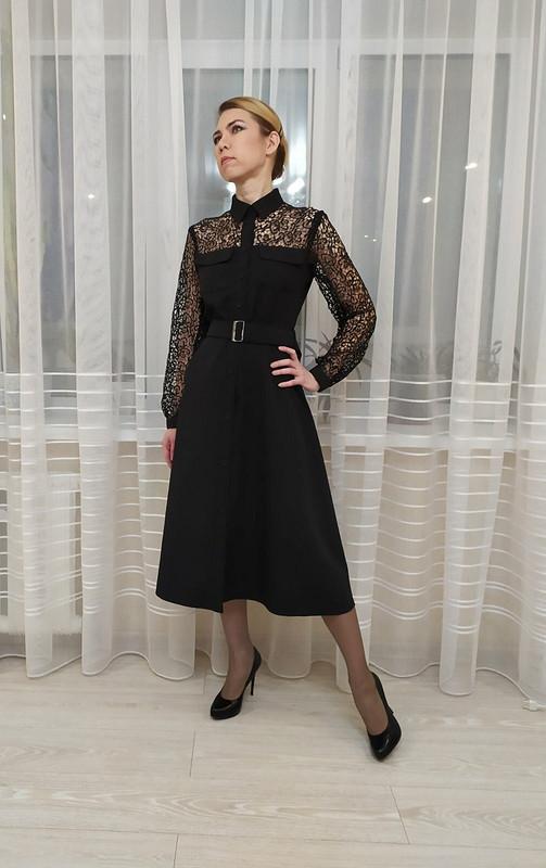 «Мое» черное платье