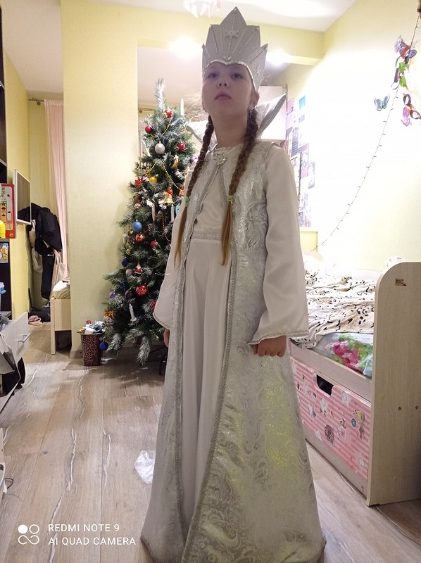 Платье «Снежная королева»