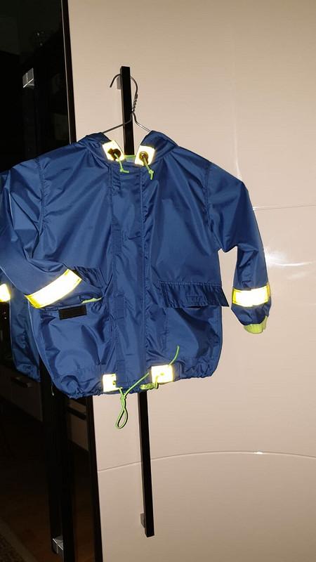 Детская курточка-дождевик