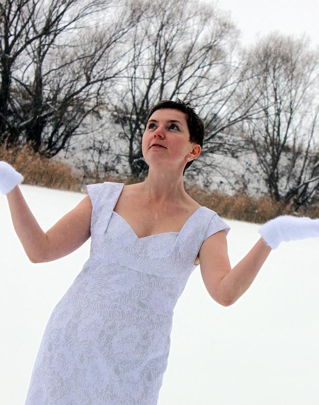 Платье «Снежное кружево - 2021»