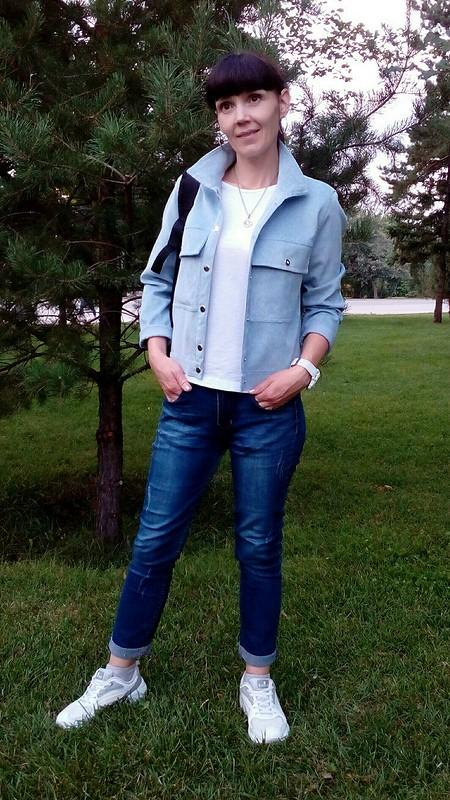 Куртка а-ля джинсовка