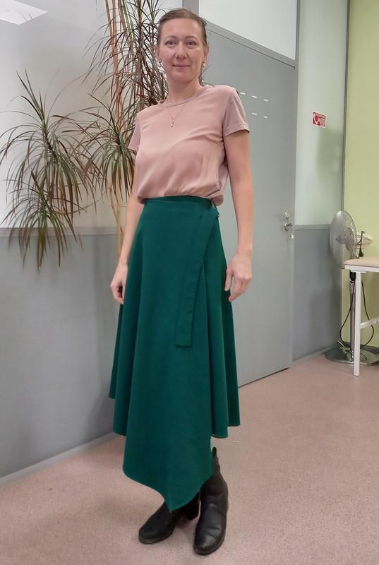 Изумрудная юбка